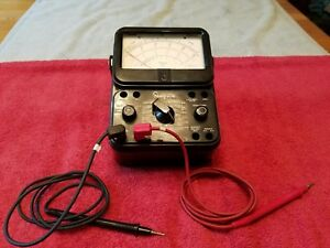 Simpson 260 Series 7 Volt Ohm Multi meter Vintage Usa Made