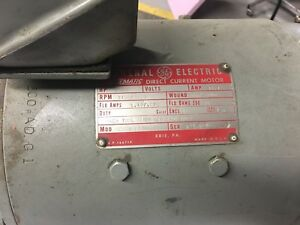Monarch 10ee Tool Room Lathe Dc Spindle Motor Only Two Speed Transmission