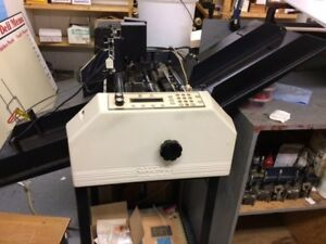 Graphic Whizard K2 Automatic Numbering Score And Perfing Machine