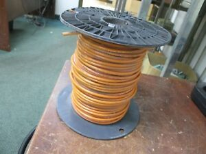 United Copper 10 Awg Wire Gr11 Vw 1 600v Orange Length Approx 137ft New Surplus