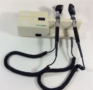 Welch Allyn 767 Series Transformer Otoscope Opthalmoscope Medical Equipment
