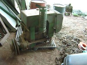 Late 1940 s John Deere 12a Combine 2 Cylinder Luc Power Plant