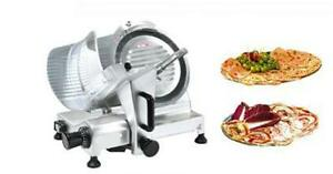 250mm Blade Common Commercial Semi automatic Meat Slicer New
