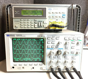 Hp 54602b 2 2 Channel 150 Mhz Oscilloscope