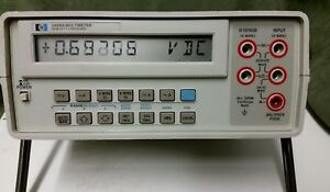 Hp 3468a Multimeter