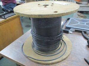 Misc Brand 10 Awg Wire Thhn thwn 2 Black Approx Length 571ft New Surplus