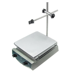 Hfs Magnetic Stirrer W Hot Plate Digital Thermostat 500w Heating 100 2000 Rpm