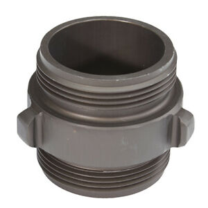Aluminum 2 1 2 Nh To 2 1 2 Nh Double Male Fire Hose Adapter