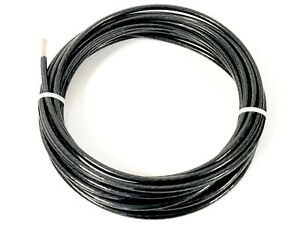 100 Feet Thhn Thwn 2 8 Awg Gauge Black Stranded Copper Building Wire Vw 1