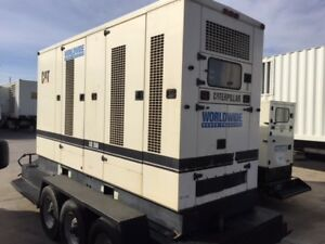 Caterpillar Xq350 Portable Generator Set 3406 Dita