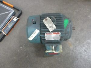 Reliance Ac Motor P18g3111d 1hp 1200rpm Fr 184 Encl Tefc 460v 1 5a Used
