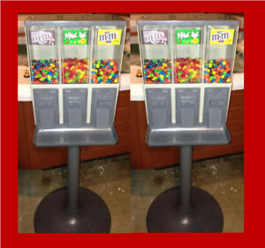 2 Vendstar 3000 Candy Machines Nice Shape Two Machines