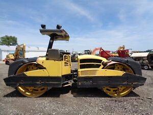 2010 Bomag Bw284 Ad Double Drum Roller Vibratory 2 Speed 3 329 Hours