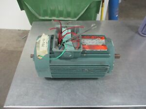 Reliance Duty Master Ac Motor B79c3134n yz 1 5hp 3500rpm Fr wd145tc 460v Used