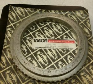 Taylor Forklift 4520 485 End Plate Rev Clutch New 1 Piece