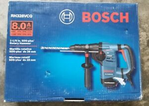 New Bosch Rh328vcq 8 Amp 1 1 8 Sds plus Quick change Rotary Hammer