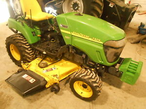 John Deere 2305 Compact Tractor 3 Point Hitch Front Weights 540 Pto
