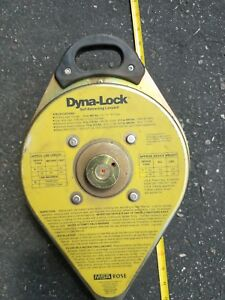 Dyna lock 30 Galvanized Steel Self retracting Fall Protection Lanyard