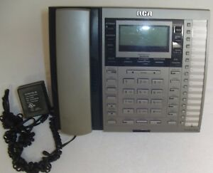Rca Executive Series Business 4 Line Office Phone Model 25415 Re3 a