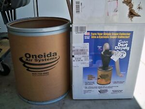 Oneida Axd002040a Dust Collector Drum Only New Never Used