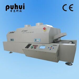 New Led T960 Reflow Oven Bga Smt Sirocco Rapid Infrared Soldering Machine