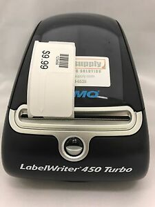 Dymo Thermal Label Printer With Jewelry Tags Includes Rat Tail Style Labels