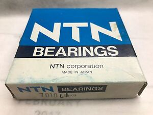 Ntn 7010 Angular Contact Bearing