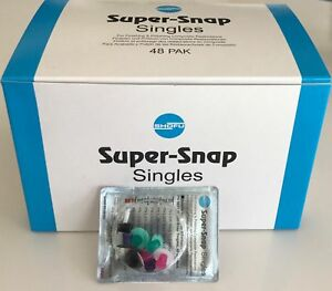 Shofu Super Snap Mini Singles Mini Plastic Mandrel Composite 48 box
