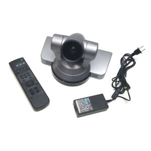 Sony Evi hd1 Color Hd Video Conference Ptz Camera Webcam Tested W Remote Ev 100