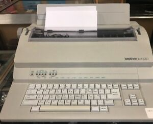 Brother Bem 530 Electronic Typewriter Working Condition Em 530