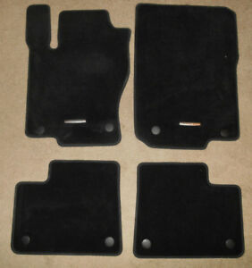 2013 2016 Mercedes Gl class 4pc Oem Black Carpet Floor Mats Gl450 Ml350 X166