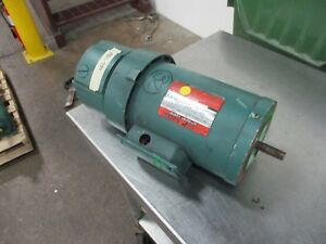 Reliance Duty Master Ac Motor W Brake B79k7267m mb 1 5hp 1800rpm Fr fj56c Used