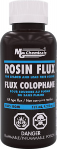 Mg Chemicals Liquid Rosin Flux For Leaded And Lead Free Solder 125 Ml Bottle