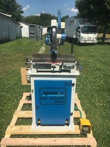 Omga T50 350 Pneumatic Precision Miter Chop Saw Excellent Condition