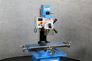 New Weiss Vm 25l Bench Top Milling Machine Brushless Belt Drive Motor