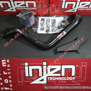 Injen Sp Black Short Ram Intake W Air Scoop For 2010 2012 Vw Mkvi Gti 2 0t