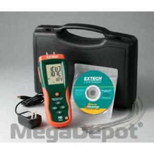 Extech Hd755 0 5psi Differential Pressure Manometer