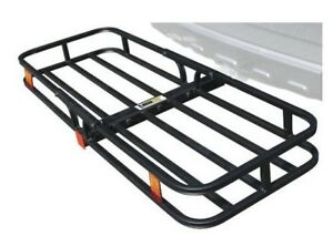High Quality Hitch Mount Compact Cargo Carrier 2 Receiver 500lb 70107