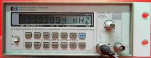 Hp Agilent Keysight 5384a Frequency Counter Sn 2730a02577