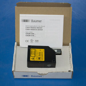 New Baumer Oadm 20i6460 s14f Laser Distance Sensor Beam Point 620 680nm Oadm 20