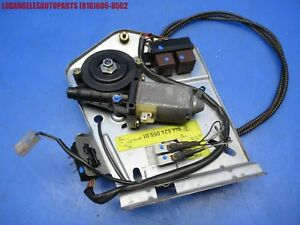 86 95 Porsche 944 968 Sunroof Motor Assembly W Cable Relays Micro Switches