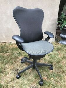 Herman Miller Mira Office Chair In Graphite Gray Fully Adjustable 2013 Edition