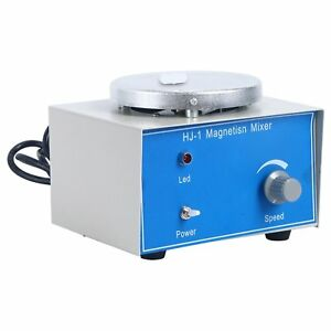Hj 1 Hot Plate Magnetic Stirrer With 8x25mm Magnetic Stir Bars 1000ml 2400rpm