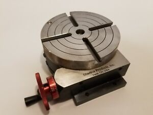 Sherline 4 Inch Precision Rotary Table 3700 Made In The Usa
