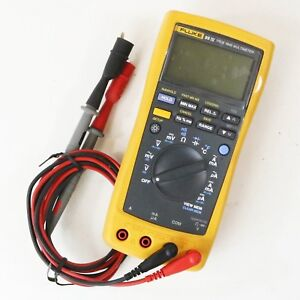 Fluke 89 Iv True Rms Multimeter With Leads