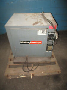Hobart 600c3 6 Accu charger 3 Ph 480 V 350c Crtler Industrial Battery Charger