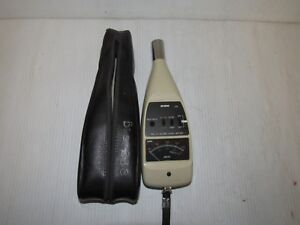 Rion Na 14 Sound Level Meter W case