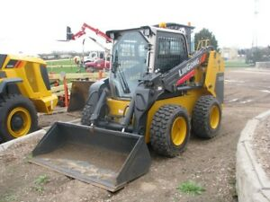 Liugong 385b Skid Steer Loader 150 Hours 3 Year Warranty 72 Hp Yanmar Ac