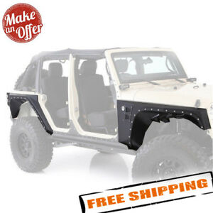 Smittybilt Xrc Front Rear Corner Armor Set For 2007 2017 Jeep Wrangler Jk 4dr