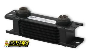 Earls Ultrapro Narrow Oil Cooler P N 207erl 7 Row Cooler Only Free Ship